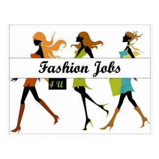 Fashion Jobs 4 U Swag Postcard