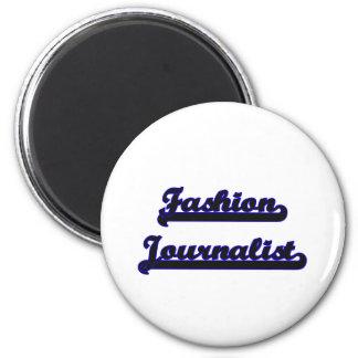 Fashion Journalist Classic Job Design 2 Inch Round Magnet