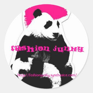 Fashion Junky Classic Round Sticker