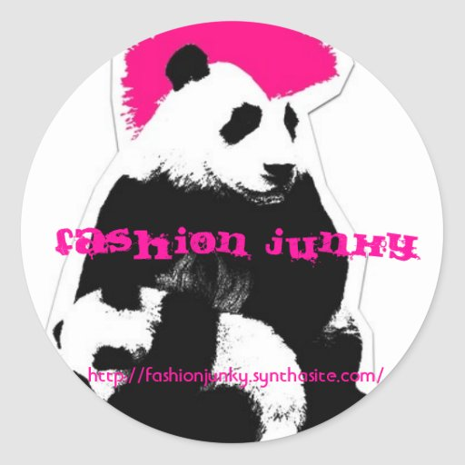 Fashion Junky Stickers