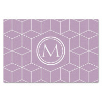 Fashion Lavender Herb Cubes and Monogram Tissue Paper