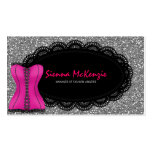 Fashion Lingerie Double-Sided Standard Business Cards (Pack Of 100)