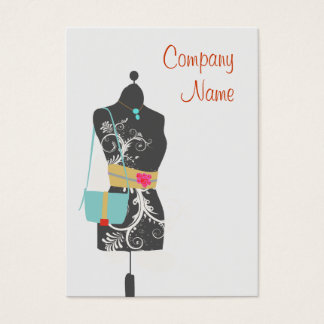 Fashion Mannequin Business Card
