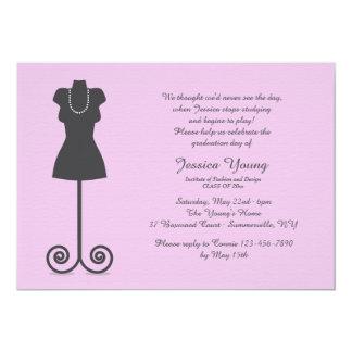 Fashion Mannequin Invitation