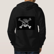 Fashion Mens skull crossbones Apparel Clothing Hoodie