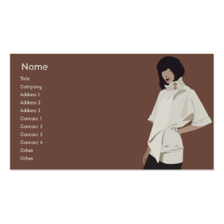 Fashion Merchandiser - Business Double-Sided Standard Business Cards (Pack Of 100)