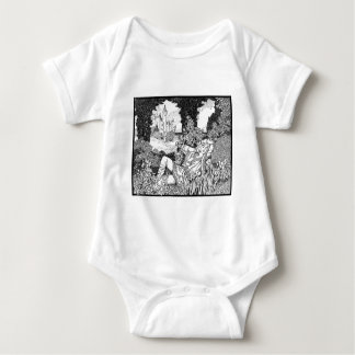 Fashion Middle Ages Baby Bodysuit