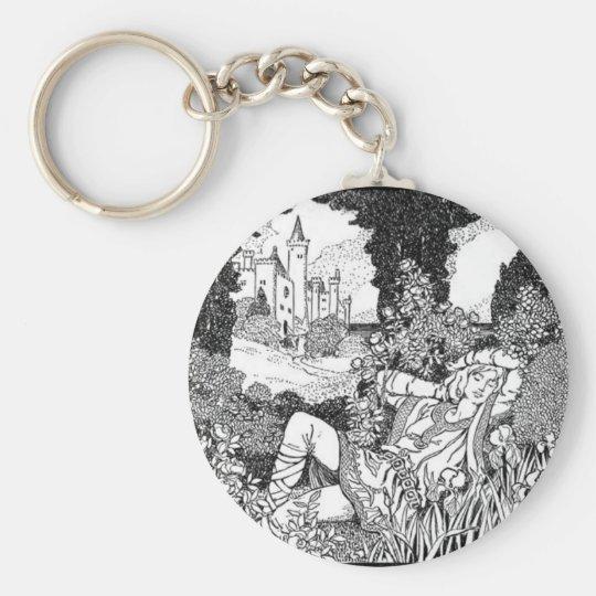 Fashion Middle Ages Keychain