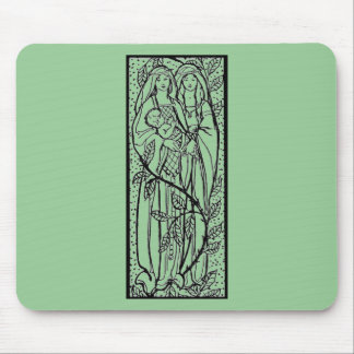 Fashion Middle Ages Mouse Pad