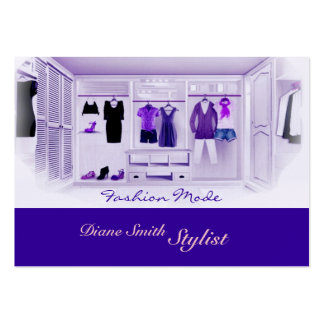 Fashion Mode Large Business Card