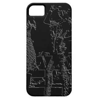 Fashion model iPhone cover