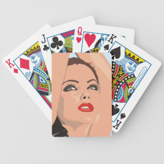 """""""Fashion Model"""" Playing Cards"""