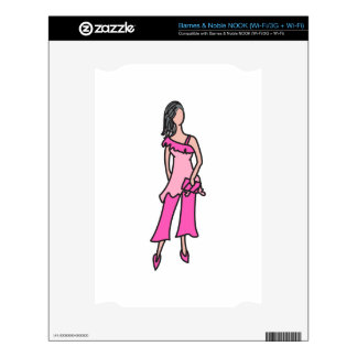FASHION MODEL NOOK DECAL