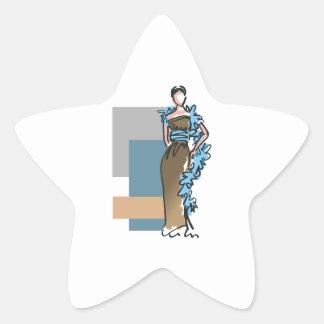 FASHION MODEL STAR STICKER