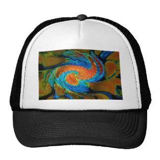 fashion modern elegant blue posters t-shirts print trucker hat