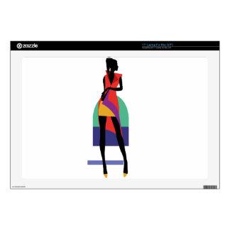 Fashion modern stylish trendy illustration pattern laptop skins