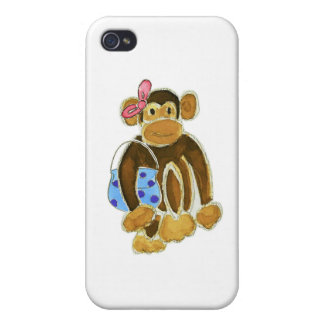Fashion Monkey Cases For iPhone 4
