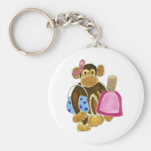 Fashion Monkey Nail Polish Keychains