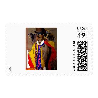Fashion n' Style Postage Stamp
