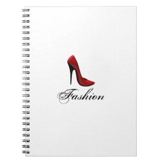Fashion Spiral Note Book