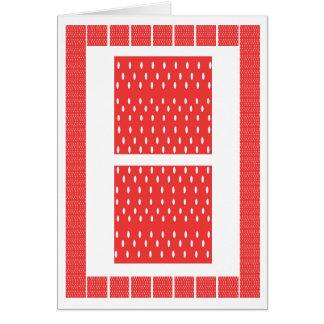 Fashion Parade - Art on Silk Fabric Patchwork Card