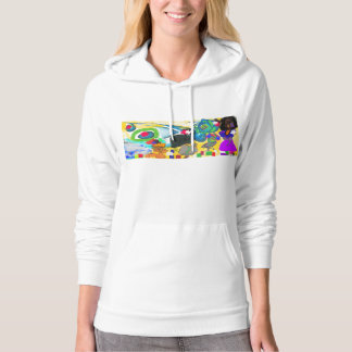 Fashion Parade at the Beach, Dans Le Jardin Hoodie