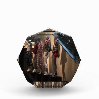 Fashion Parade Models Tshirts Clothing template Acrylic Award