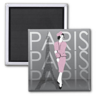 Fashion Paris Magnet