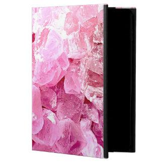 Fashion pink gemstone powis iPad air 2 case