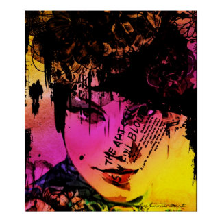 Fashion-plate Art Poster