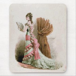 Fashion Plate ~ Mousepad Catalog Vintage Pink