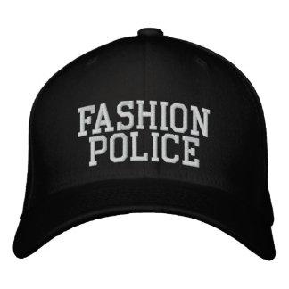 Fashion Police Embroidered Baseball Hat