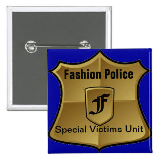 Fashion Police: Special Victims Unit Pinback Button