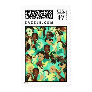 Fashion Postage Stamps