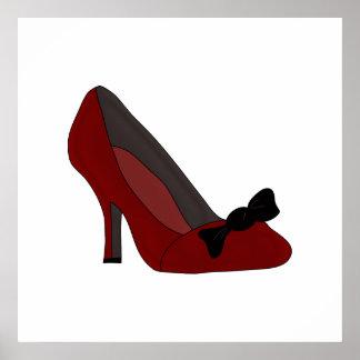 Fashion Poster shoe design