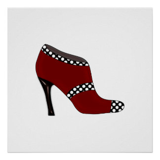 Fashion Poster shoe design