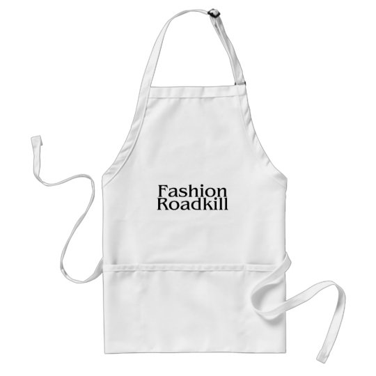Fashion Roadkill Adult Apron
