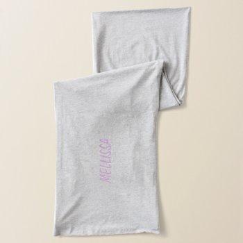Fashion Scarf - Personalize by CREATIVEWEDDING at Zazzle