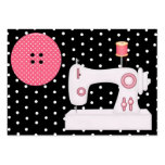 Fashion / Seamstress Card - SRF Large Business Cards (Pack Of 100)
