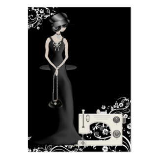 Fashion Seamstress Card - SRF Business Card Templates