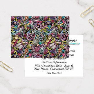 Fashion, Sewing, Knitting Business Card Version