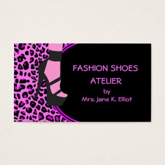 Fashion Shoes Business Card