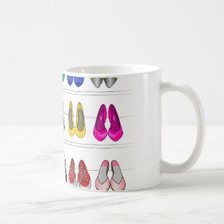 fashion shoes coffee mug