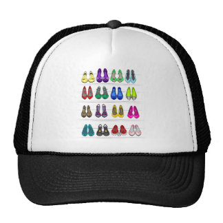 Fashion shoes trucker hat