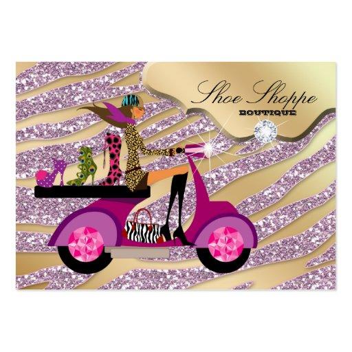 Fashion Shoes Jewelry Zebra Pink Jewel Glitter 8 Business
