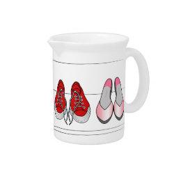 fashion shoes pitcher