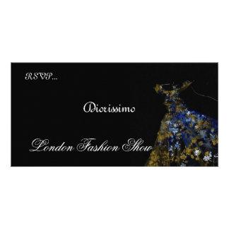 Fashion Show invitation Photo Card