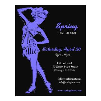 Fashion Show (Light Slate Blue) Flyer