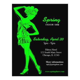 Fashion Show (Lime) Flyer