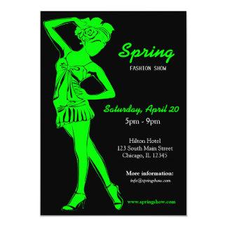 Fashion Show (Lime) Announcement